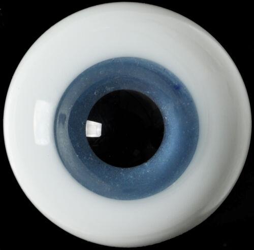 New Nice 12MM Blue Glass Eyes for  DOD DZ AOD Volks Luts MSD BJD Doll
