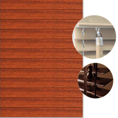 Holzjalousie Jalousie Sonnenschutz Store Rollo Holzrollo Lichtschutz Holz 100 cm