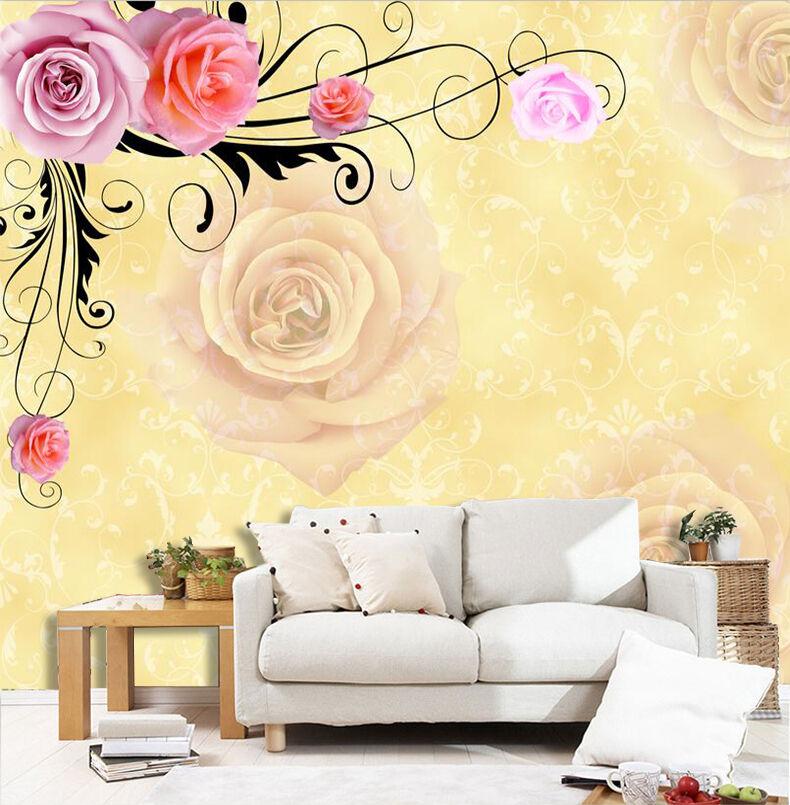 3D en Azalées Fleur 33 Photo Papier Peint en 3D Autocollant Murale Plafond Chambre Art 938ba6