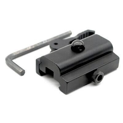 Tactical Sling Swivel Stud Adapter Mount 20mm Weaver Rail For Bipod Hunting New