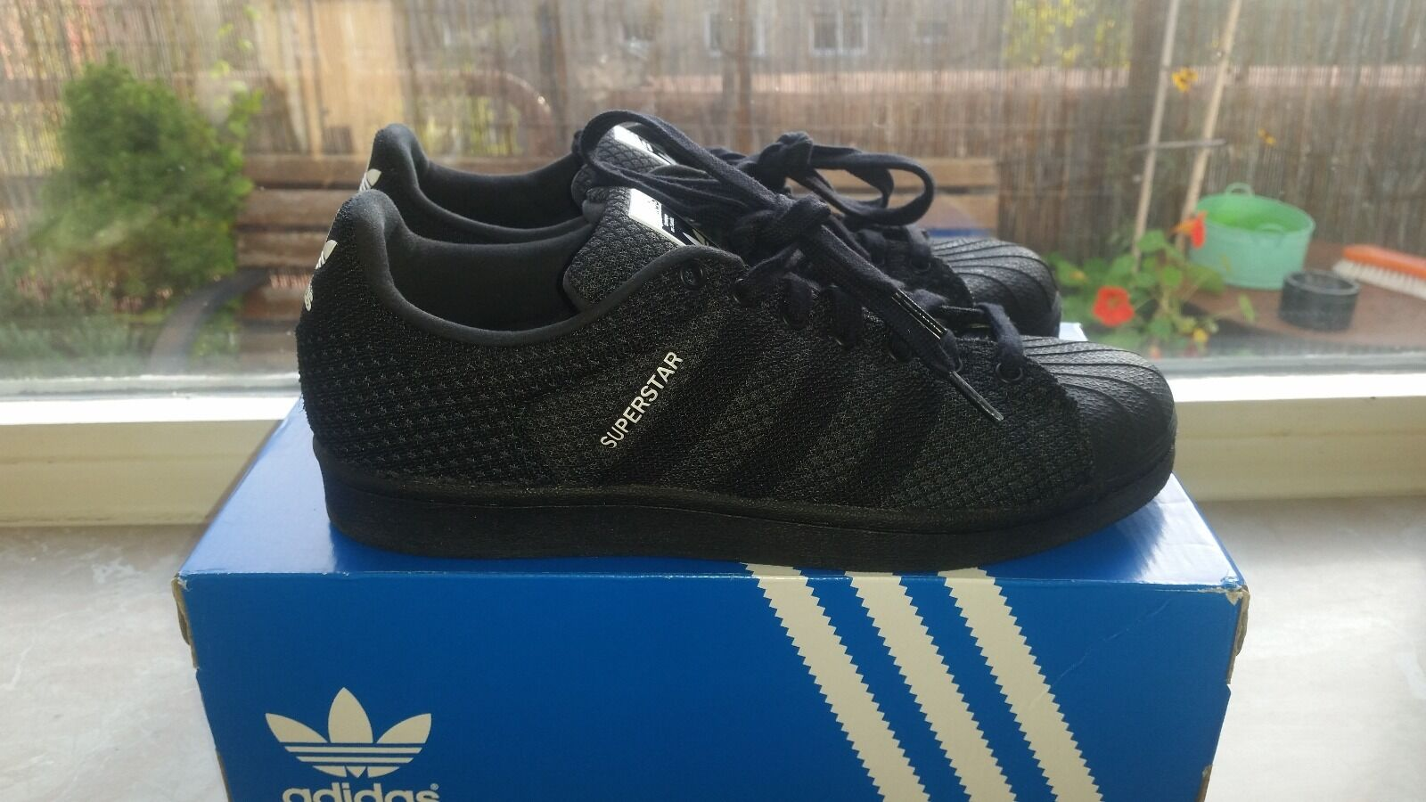 Adidas Superstar Turnschuhe (Vegan)   Gr. 40
