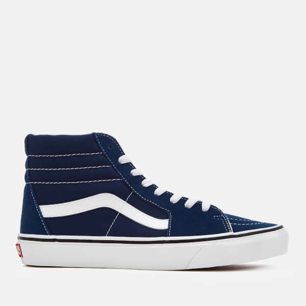 Vans Off The Wall Sk8 Hi Estate Zapatos Azules Hombre 6 Mujer 7.5