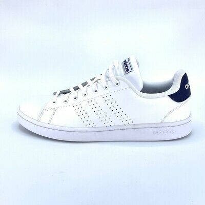 Adidas Mens Advantage Tennis Shoes White F36423 Lace Up Low Top Sneakers  12.5 | eBay
