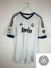 Real Madrid 12/13 Hogar Camiseta de fútbol (XL) Camiseta De Fútbol Adidas