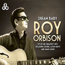 3 CD BOX ROY ORBISON DREAM BABY CRYING ONLY THE LONELY LOVE HURTS CANDY MAN ETC