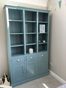 Details About Dining Room Display Cabinet With Drawers Cupboards Adjule Shelves
