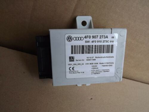 Audi A6 4F Steuergerät Reifendruck Kontrolle 4F0907273A 4F0910273C