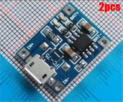 2 Stücke TP4056 5 V 1A Ladegerät Modul Lithium-Batterie Lade Board Neue Ic sy