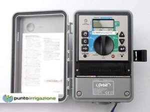 Dettagli Su Programmatore Centralina Irrigazione Orbit Super Dial Da Esterno 4 Zone 94114