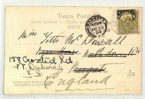 Chili * Valparaiso * Gb Margate Carte Postale 1905 {samwells Couvre -} Cg167-rs} Cg167fr-fr Afficher Le Titre D'origine Performance Fiable