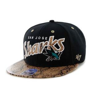 BRAND-47-San-Jose-Sharks-King-Cobra-Snapback-Cap