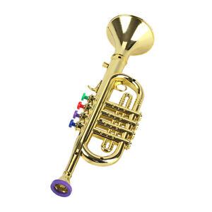 Trompette-pour-Enfants-Instrument-a-Vent-Trompette-Corne-Amusant-a-Jouer