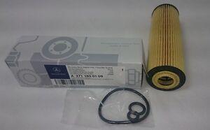 Genuine-Mercedes-Benz-OM271-C-Class-Oil-Filter-180-200-Kompressors-A2711800109