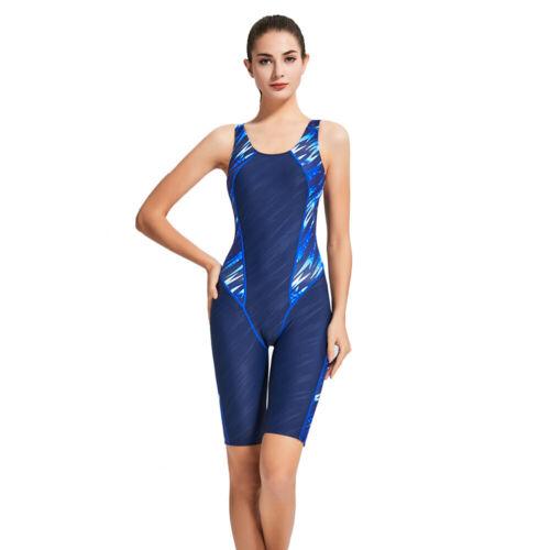 Women One Piece Swimsuit Sleeveless Training Competition Swimwear Bathing Suit
