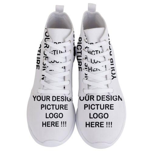 Personnalisé Personnalisé Votre Design Photo homme léger High Top Sneakers Shoes
