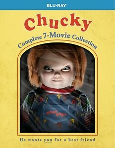 Chucky Complete 7-movie Collection Blu-ray Brand New Free Shipping