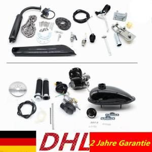 2-Takt 50cc Moteur Motorisierte Gas Fahrrad Benzin Hilfsmotor Engine Kit Bicyle Radsport