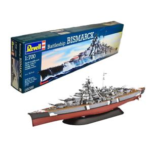 REVELL-Battleship-Bismarck-1-700-Plastic-Model-Kit-05098