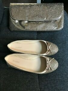 LADIES-GORGEOUS-DEICHMANN-FLAT-SHOES-SIZE-7-HAND-BAG-USED-2-3-TIMES-BARGAIN