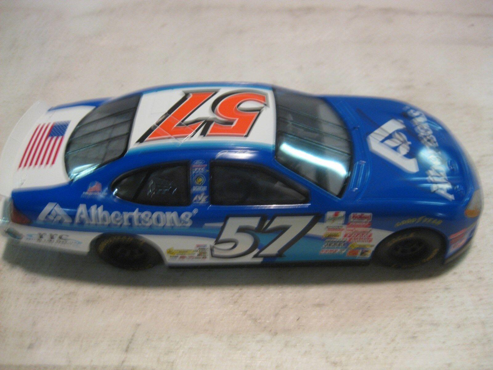 Nascar Jason Keller Albertsons Ford Taurus 124 Scale Diecast RC 2000 dc630