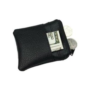 Card-Holder-Business-Faux-Pu-Leather-Men-039-s-Wallet-Change-Bags-Mini-Purse