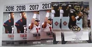 TUA-TAGOVAILOA-6-PLATINUM-HIGH-SCHOOL-amp-COLLEGE-amp-LEAF-US-ARMY-ROOKIE-CARDS