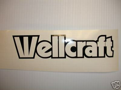 WELLCRAFT BOATS BOAT SPEED BOAT DECAL DECALS