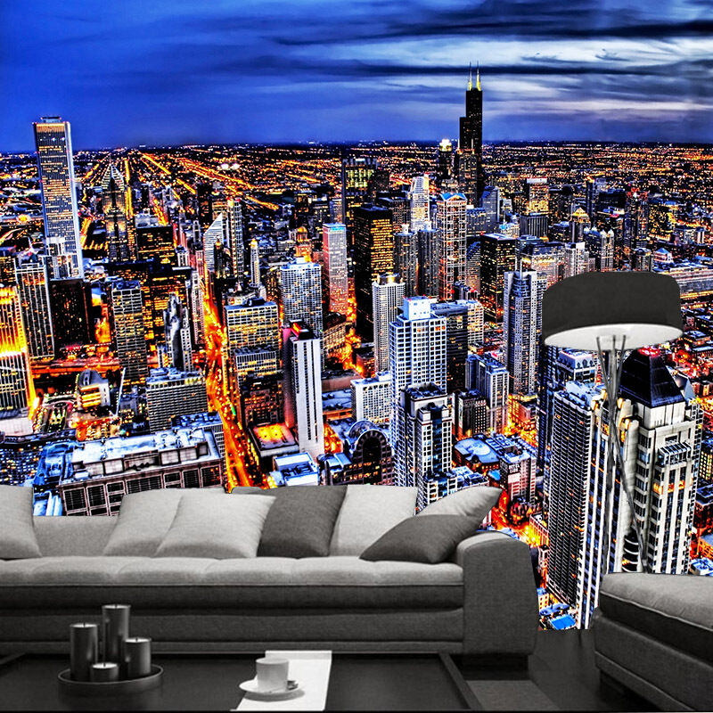 3D Bright New York 9026 Wall Paper Wall Print Decal Wall Deco Wall Indoor Murals
