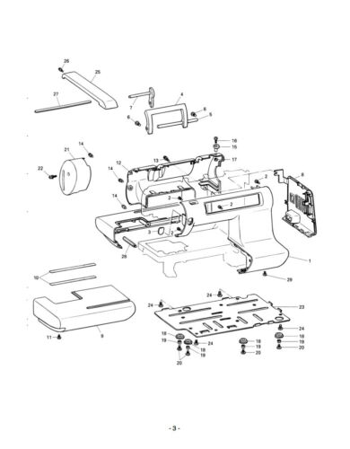 PE-150 Instructions or Service manual and Parts on CD//PDF BROTHER PE150