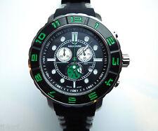 AQUASWISS RUGGED XG 96XG055 Chrono Swiss Watch, StSl Back/Green, Day/Date