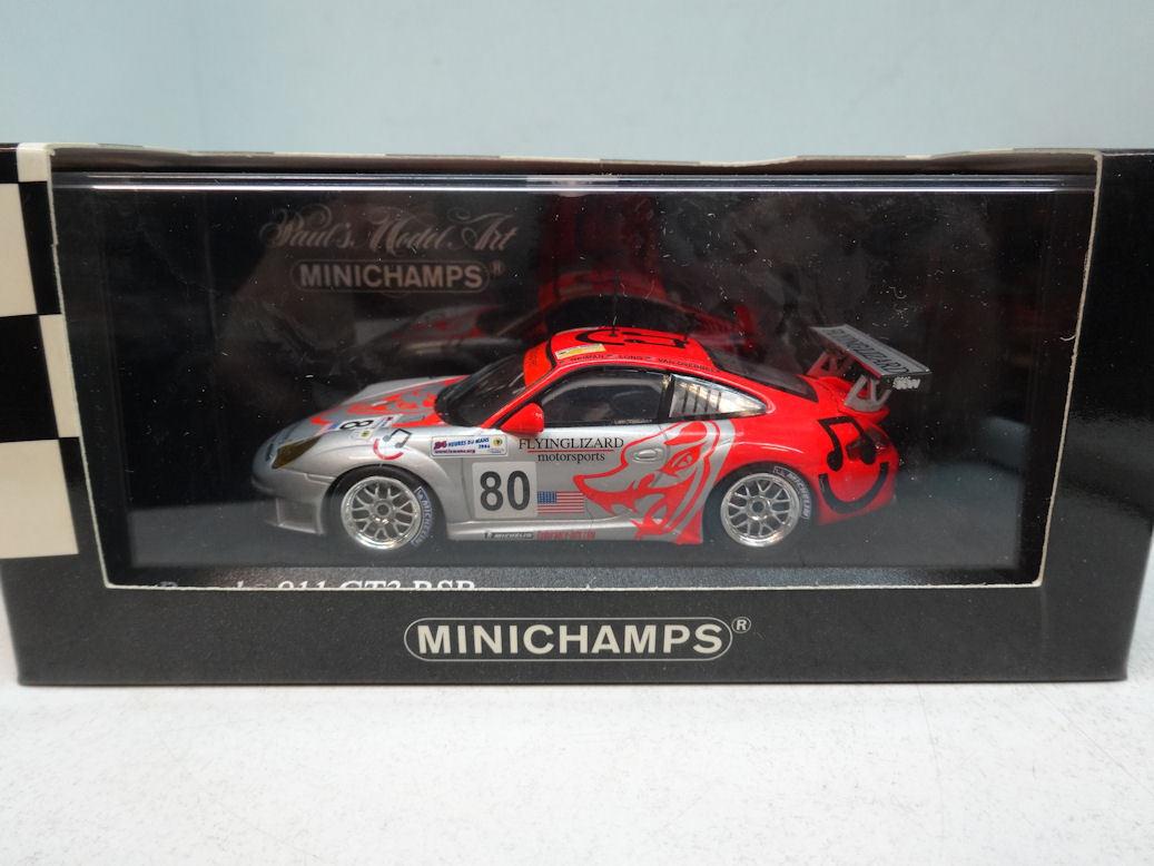 Minichamps   PORSCHE 911 GT3 RSR - - - VAN OVERBEEK LONG NEIMAN - 400066480 582480