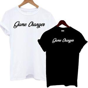 b86c2a08f Game Changer T Shirt Slogan Tee Funny Clothing Fashion Girl Print ...