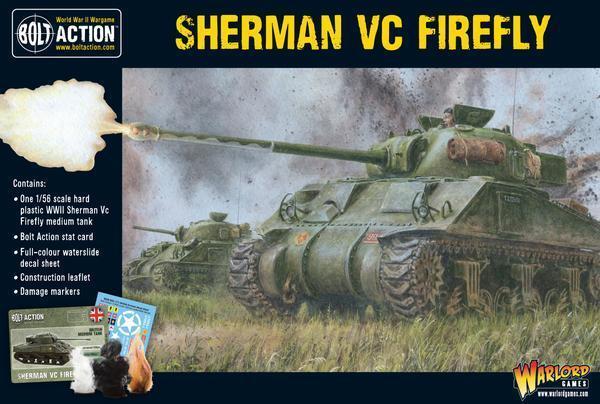 Warlord Games Sherman Firefly Vc 28mm USA United Kingdom WWII