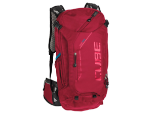 Zaino Cube Edge trail rojo