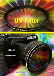 UV Haze 1A Multicoated Includes Filter Adapter Multithreaded Glass Filter for Nikon Coolpix B500