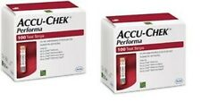 accucheck performa 200 Test strips + NEW + Free Shipping Healthcare EDH