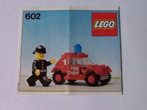 LEGO® Bauanleitung / Instruction Nr. 602