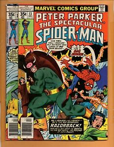 Peter-Parker-The-Spectacular-Spider-Man-13-17-2-book-lot-Angel-Iceman-FN