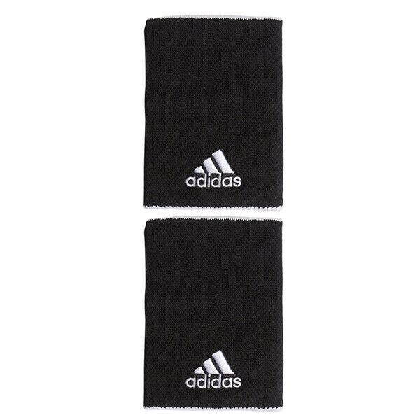 Hacer un nombre Millas consumidor  adidas Tennis Wristbands L Sports Badminton Sweatband Red Racquet 2 Pcs  CV4126 for sale online | eBay