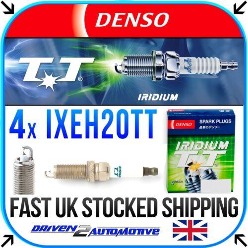 4711 DENSO IRIDIUM TT Candele Set di 4-il commercio all/'ingrosso-spedizione rapida IXEH20TT