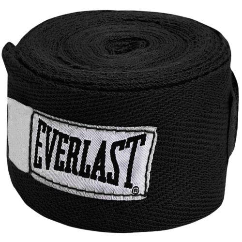"Everlast 120/"" Boxing Handwraps-Black"