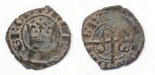 HN MESSINA Maria e Martino d'Aragona 1396-1402 denaro MI BB+ RARO    si605