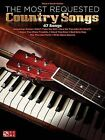 The Most Requested Country Songs Pvg by Hal Leonard Corporation (Paperback, 2015)