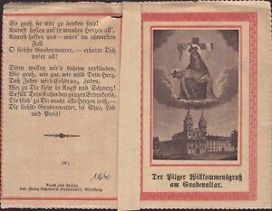 Maria-Schosberg-Eslovaquia-Hungria-Bohemia-Wallfahrt-Recuerdo-Estampa-B-5056