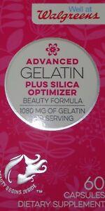 Gelatin & Silica Vitamin Supplement For Healthy Hair & Nails 60 ...