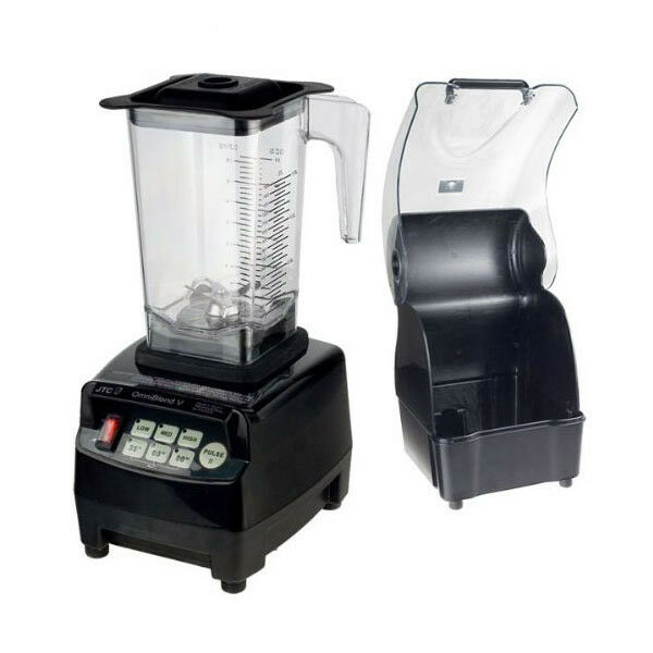 Power Mixeur JTC OmniBlend 1,5 L Smoothie Maker Ice Crusher Bruit Prougeection