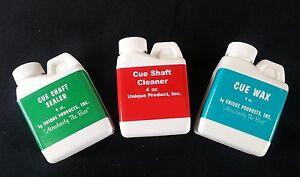 Unique Products Cue Shaft Cleaner Cue Shaft Sealer Amp Cue