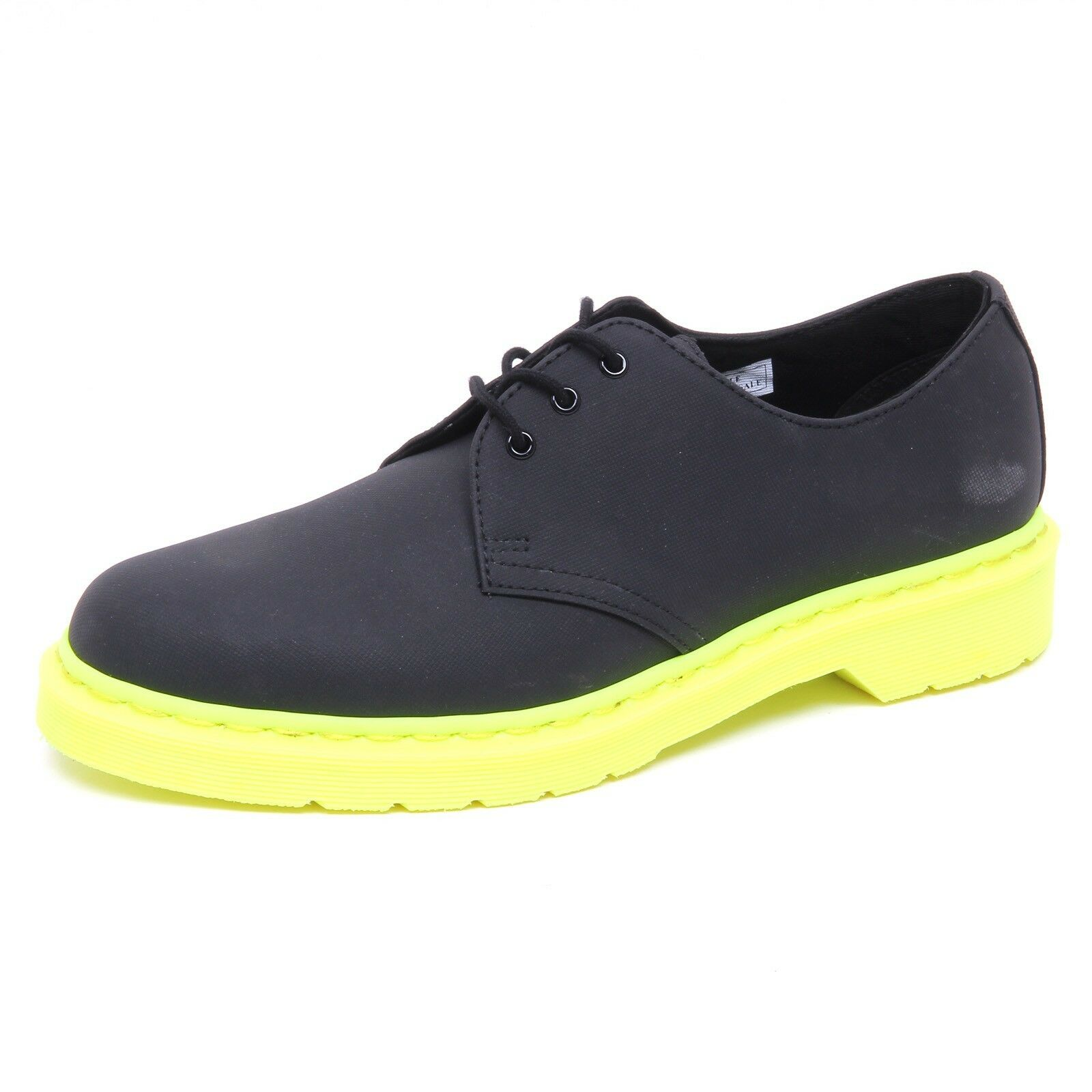 D8278 (SAMPLE NOT FOR SALE WITHOUT BOX) scarpa uomo nero DR. MARTENS shoe man