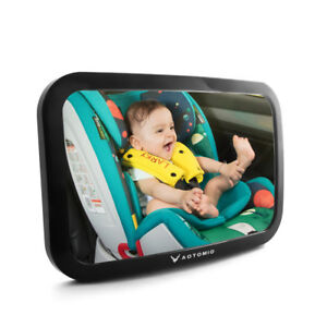 Baby Mirror Car Back Seat Rear View Mirror for Infant Shatterproof Acrylic