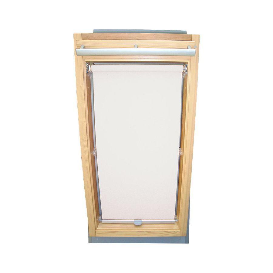 Abdunkelungsrollo für Velux-Dachfenster VL VF VT, Rollo in weiß | Zuverlässige Qualität